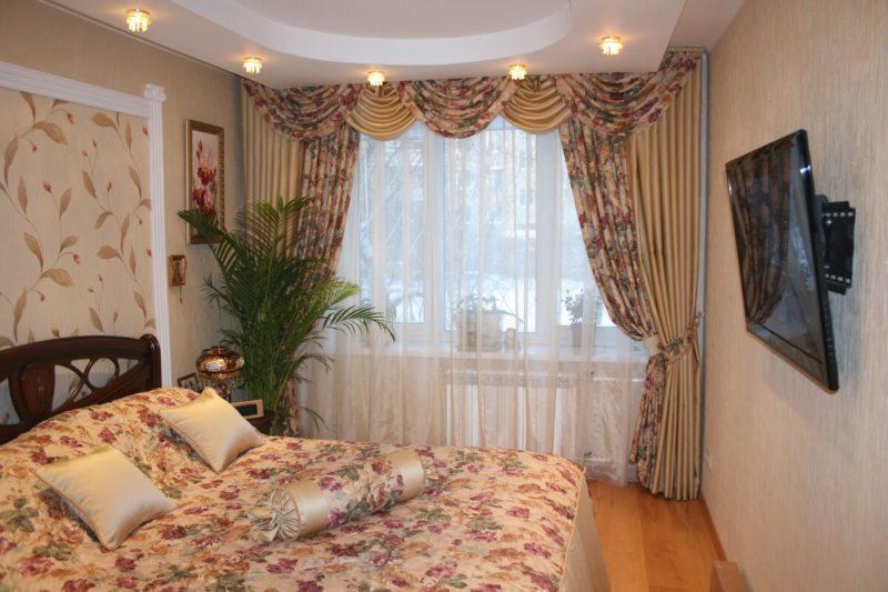 Занавески в спальню (30)