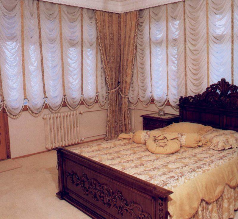 Занавески в спальню (31)