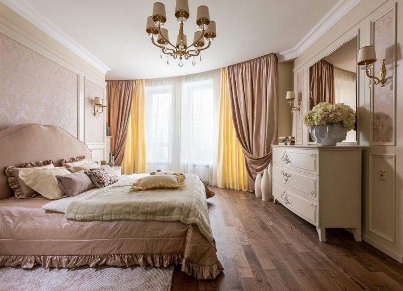 Занавески в спальню (33)