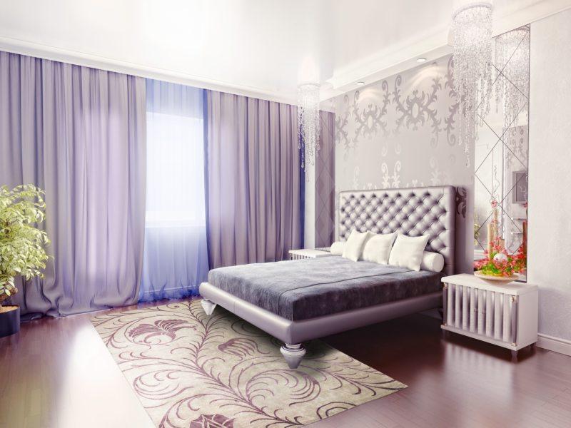 Занавески в спальню (51)