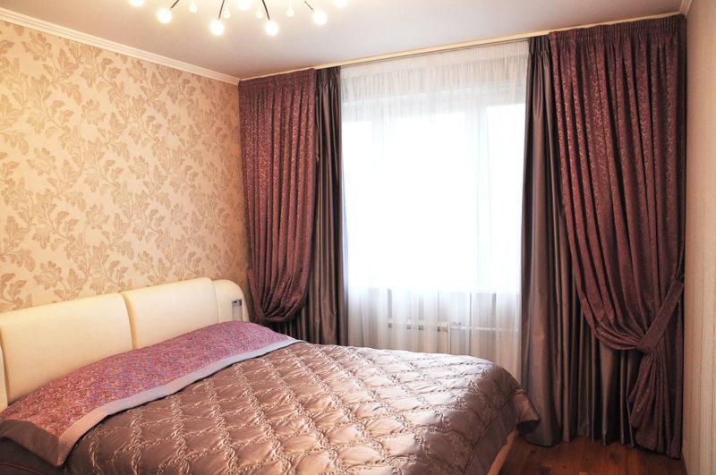 Занавески в спальню (6)
