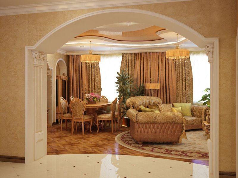 арка в гостинную (8)