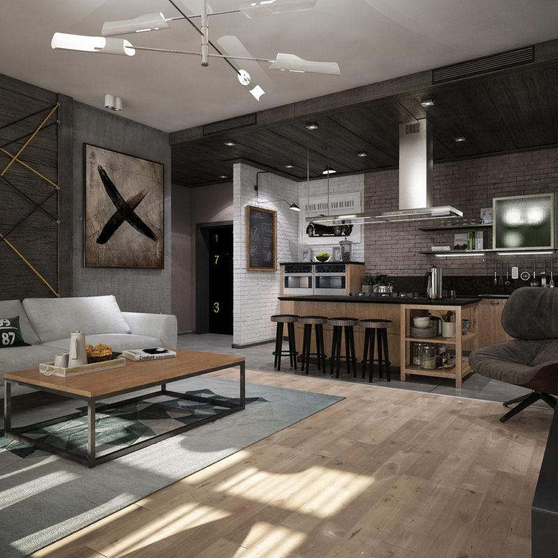 Дизайны квартир 2017