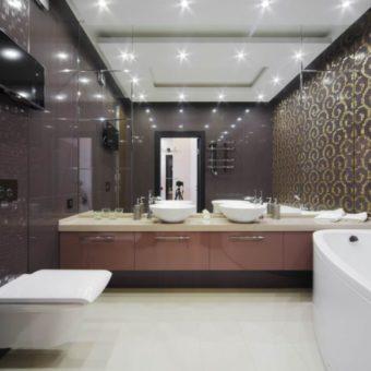 Дизайн туалета 2017 года — 150 фото новинок стильного оформления