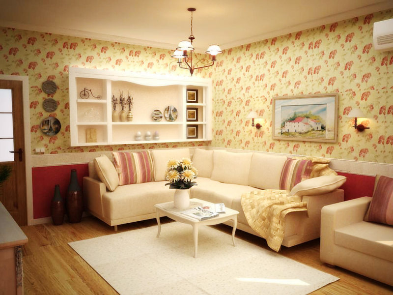 гостиная в хрущевке (3)