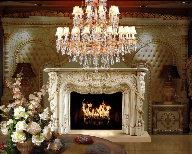 гостиная в стиле барокко (1)