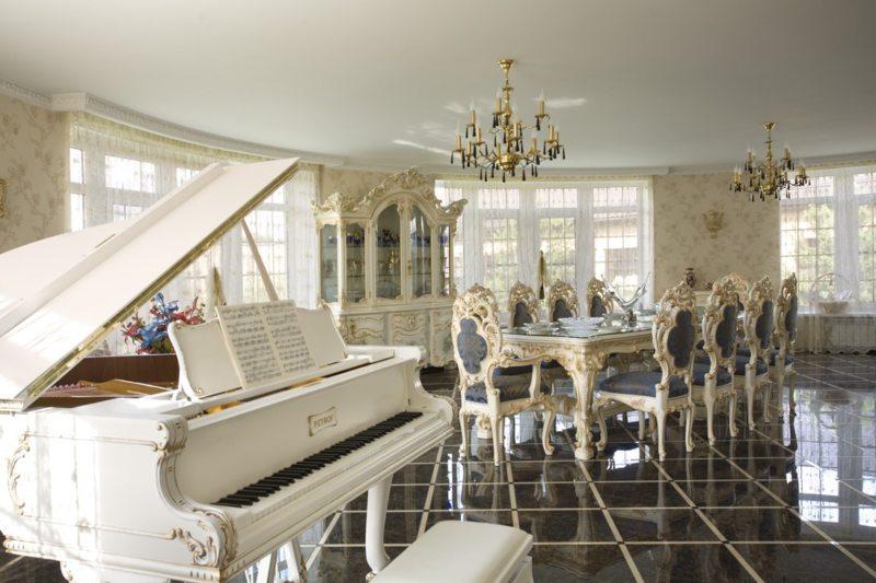 гостиная в стиле барокко (10)