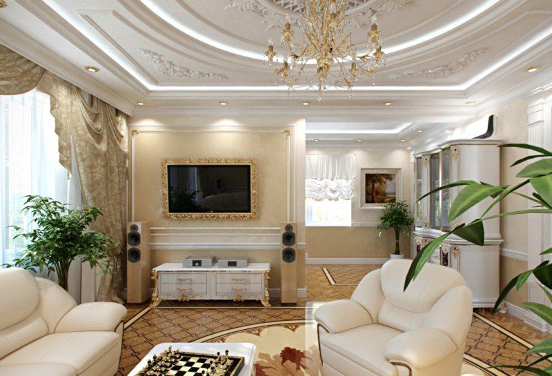 гостиная в стиле барокко (12)