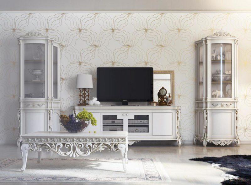 гостиная в стиле барокко (14)