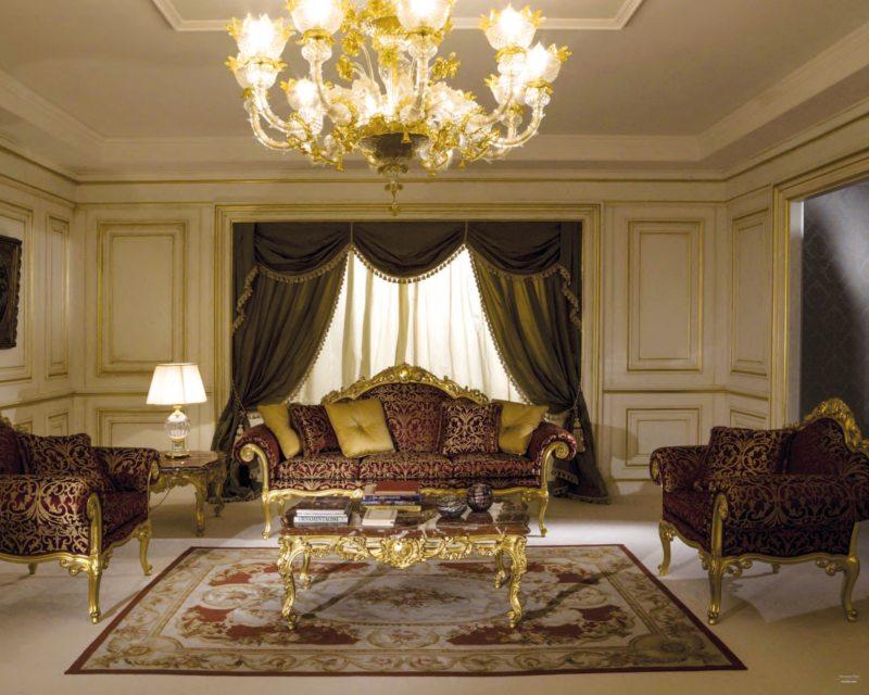 гостиная в стиле барокко (20)