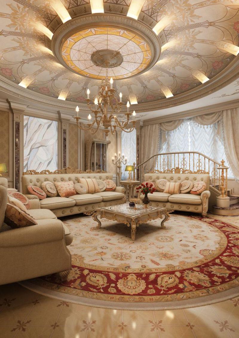 гостиная в стиле барокко (23)