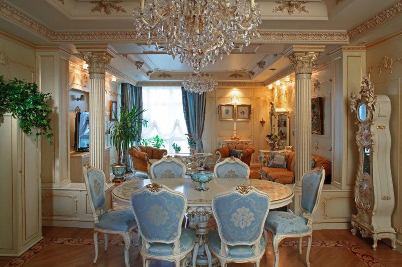 гостиная в стиле барокко (25)