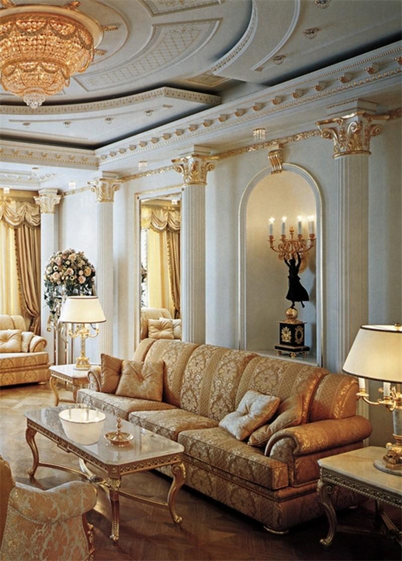 гостиная в стиле барокко (26)