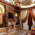 гостиная в стиле барокко (28)