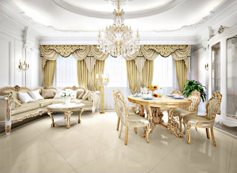 гостиная в стиле барокко (3)