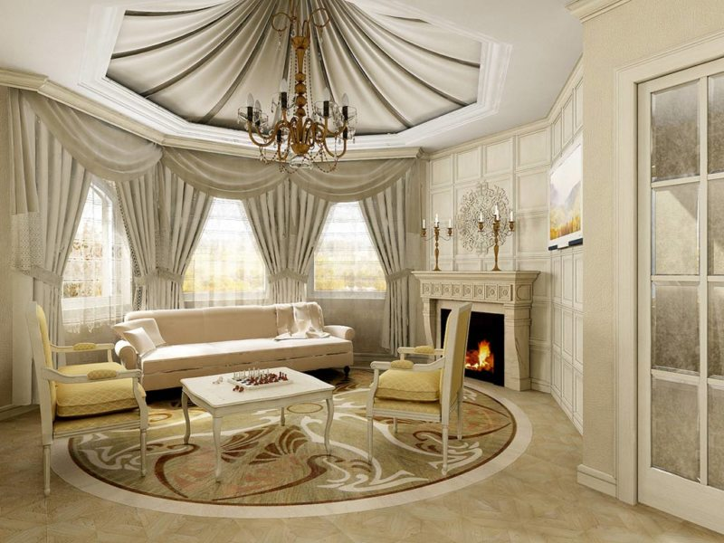 гостиная в стиле барокко (30)