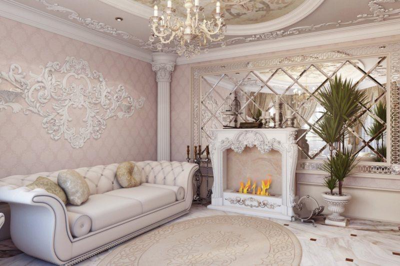 гостиная в стиле барокко (31)