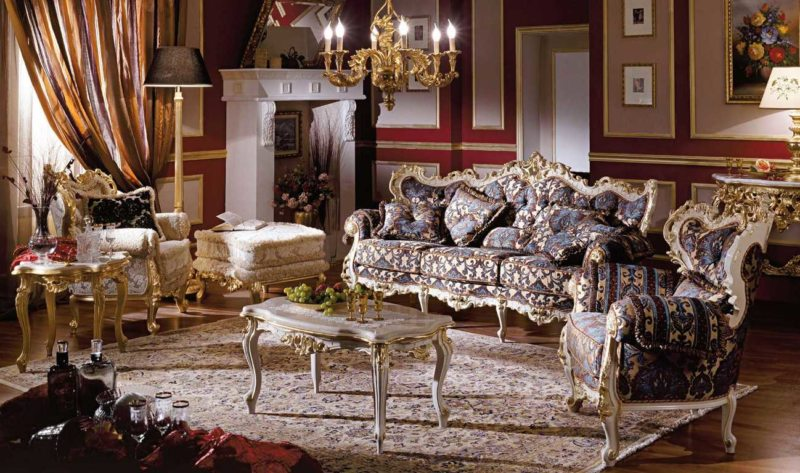 гостиная в стиле барокко (35)