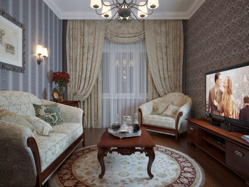 гостиная в стиле барокко (36)