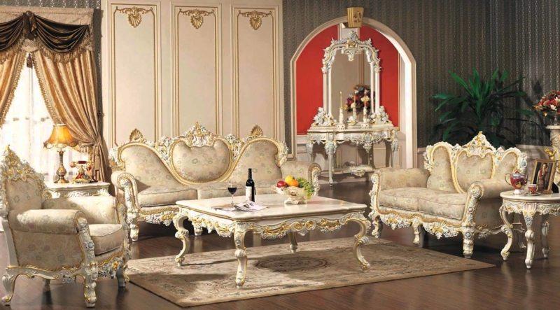 гостиная в стиле барокко (37)
