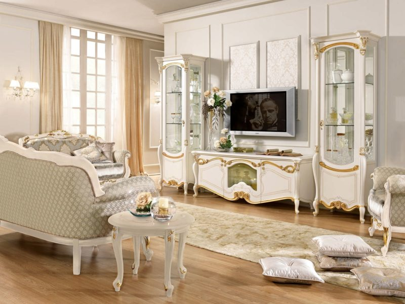 гостиная в стиле барокко (42)