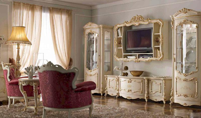 гостиная в стиле барокко (43)