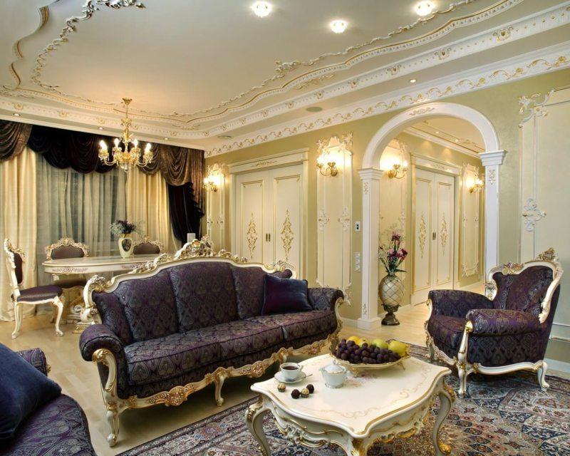 гостиная в стиле барокко (44)