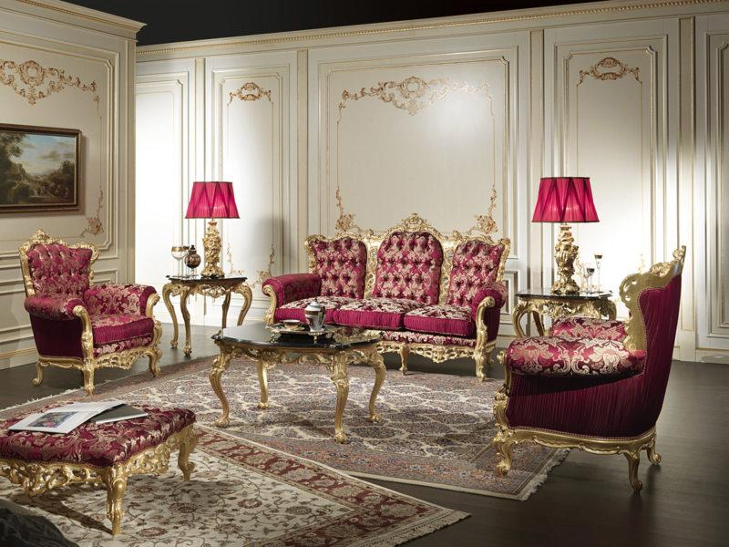 гостиная в стиле барокко (46)
