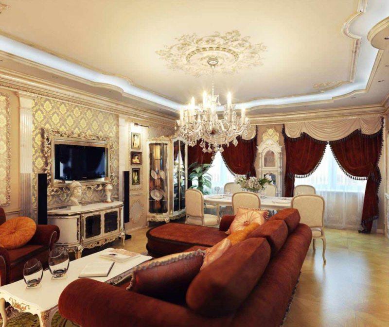 гостиная в стиле барокко (49)