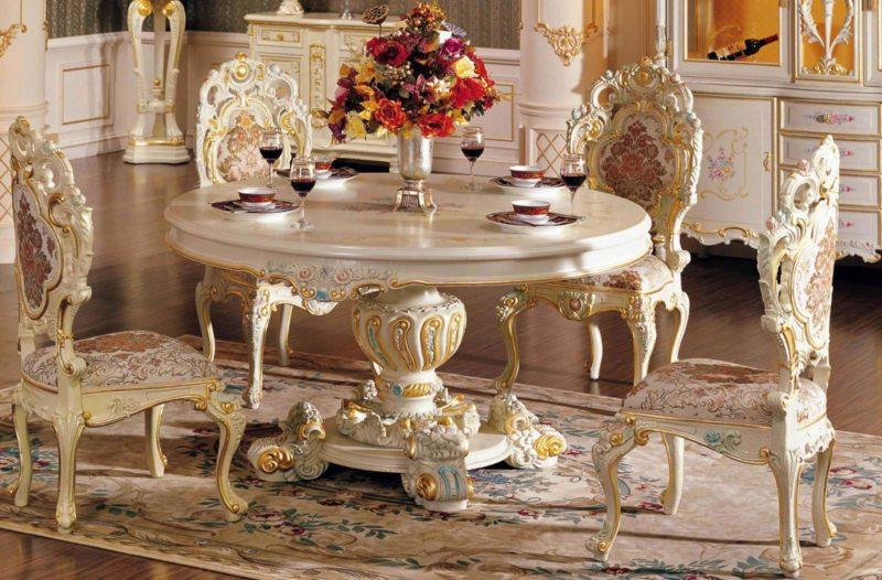 гостиная в стиле барокко (50)