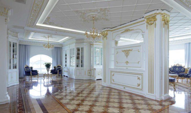 гостиная в стиле барокко (51)