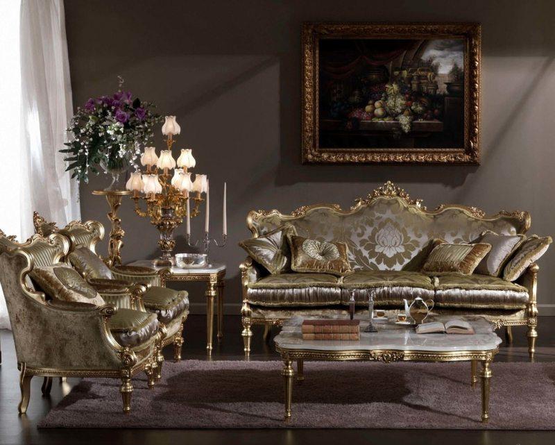 гостиная в стиле барокко (52)