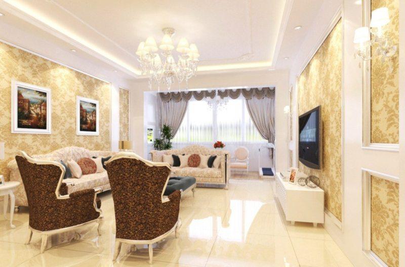 гостиная в стиле барокко (54)