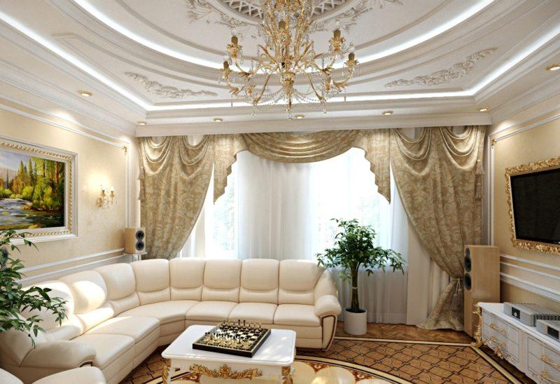 гостиная в стиле барокко (55)