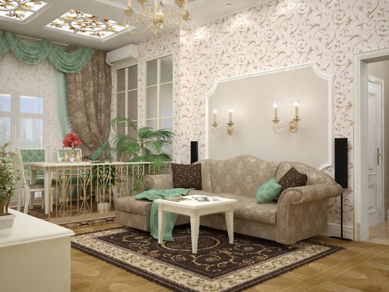 гостиная в стиле барокко (57)