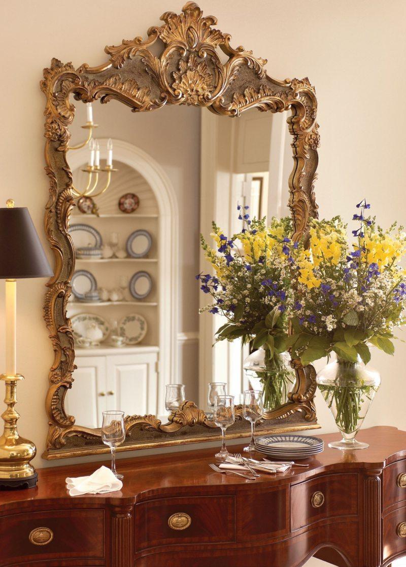 гостиная в стиле барокко (6)