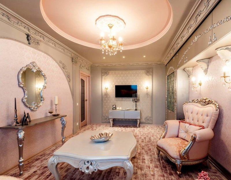 гостиная в стиле барокко (8)