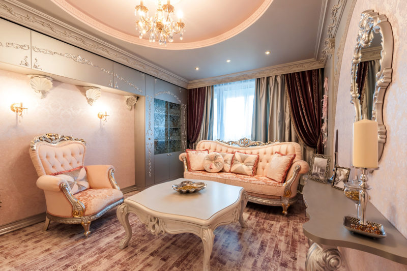 гостиная в стиле барокко (9)