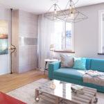 гостиная в светлых тонах (3)