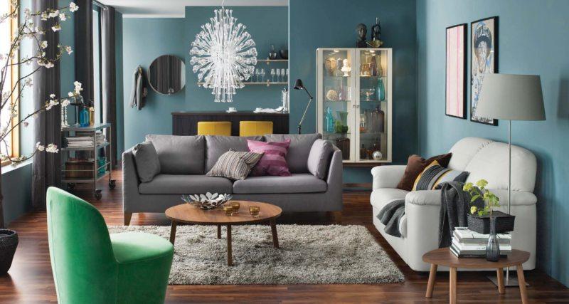 гостиная икеа 100 фото идей стильного оформления в интерьере