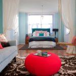 гостинная совмещенная со спальней (1)