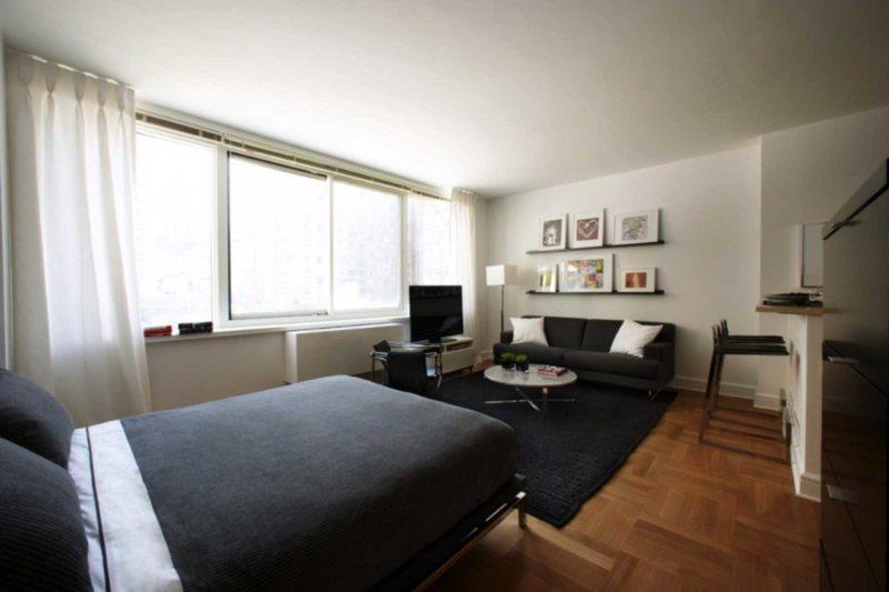гостинная совмещенная со спальней (13)