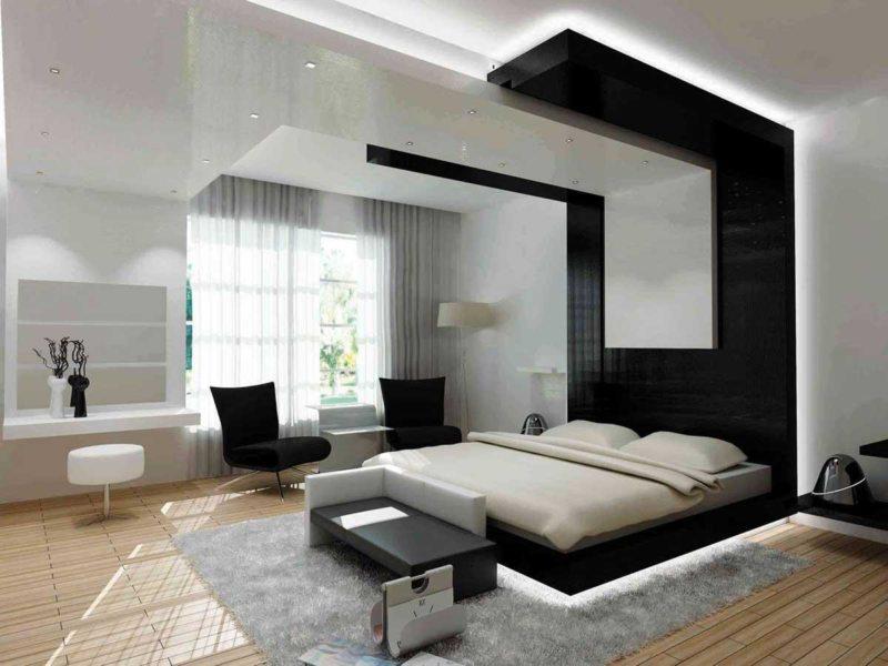 гостинная совмещенная со спальней (15)