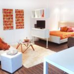 гостинная совмещенная со спальней (2)