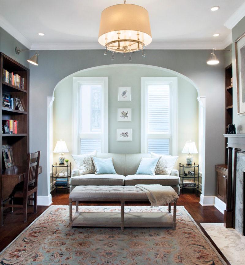 гостинная совмещенная со спальней (25)