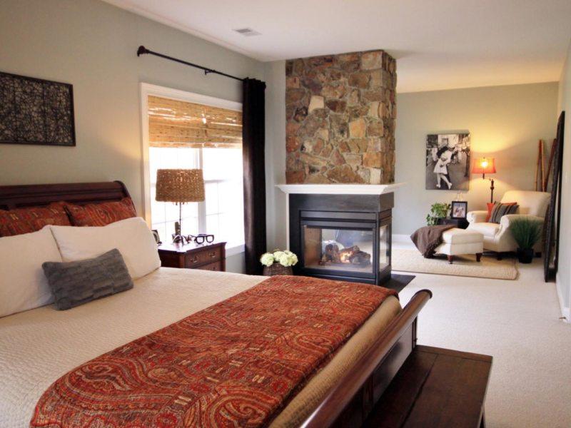 гостинная совмещенная со спальней (29)