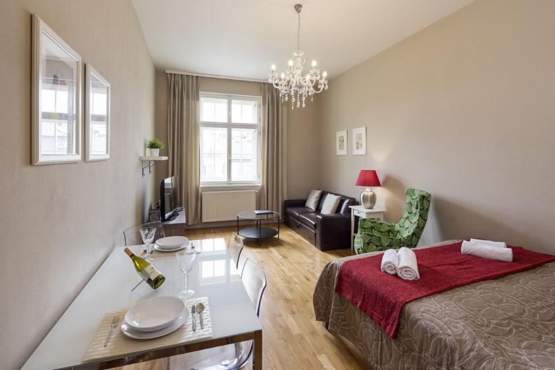 гостинная совмещенная со спальней (36)
