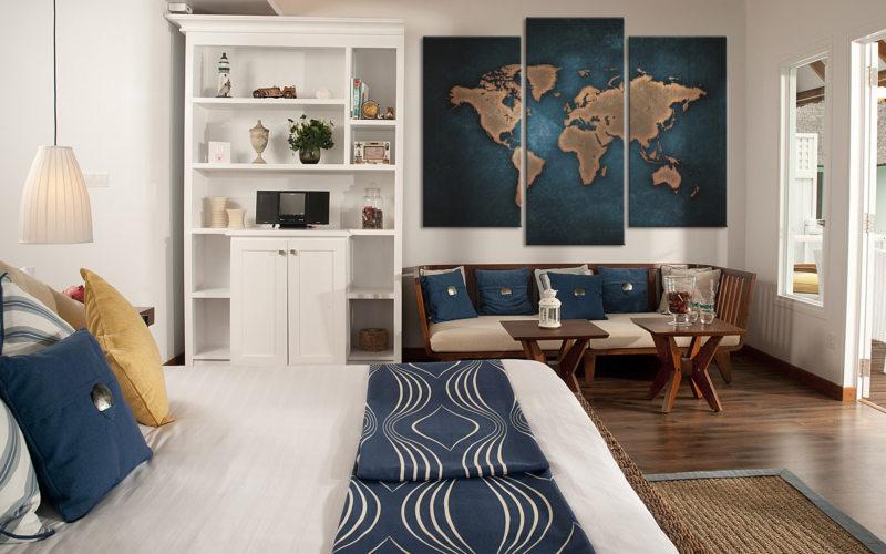 гостинная совмещенная со спальней (37)