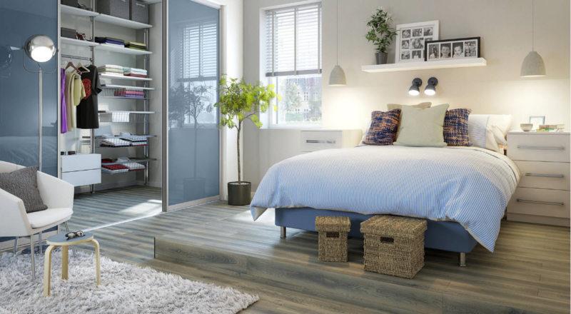 гостинная совмещенная со спальней (40)