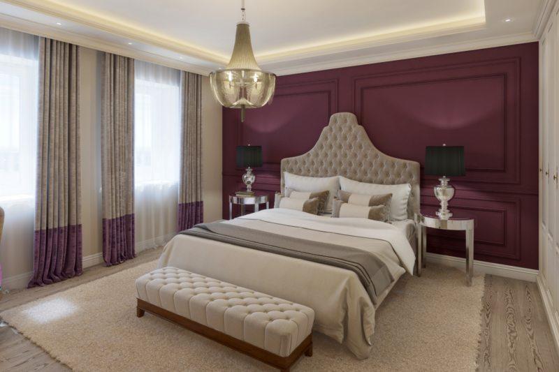 гостинная совмещенная со спальней (41)